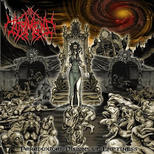 IN TORMENT - Paradoxical Visions Of Emptiness CD