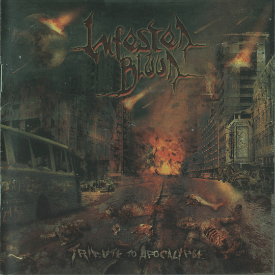 INFESTED BLOOD -  Tribute To Apocalypse CD