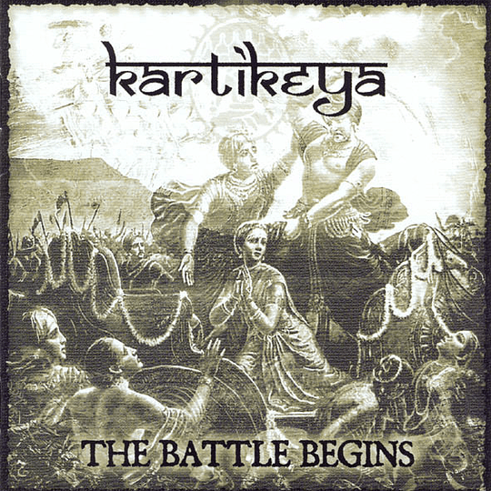 KARTIKEYA - The Battle Begins CD