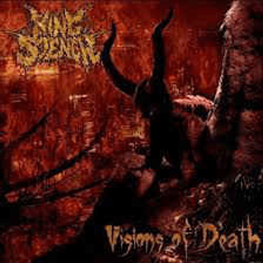 KING STENCH - Visions Of Death CD