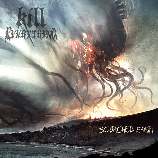 CD - KILL EVERYTHING - Scorched Earth