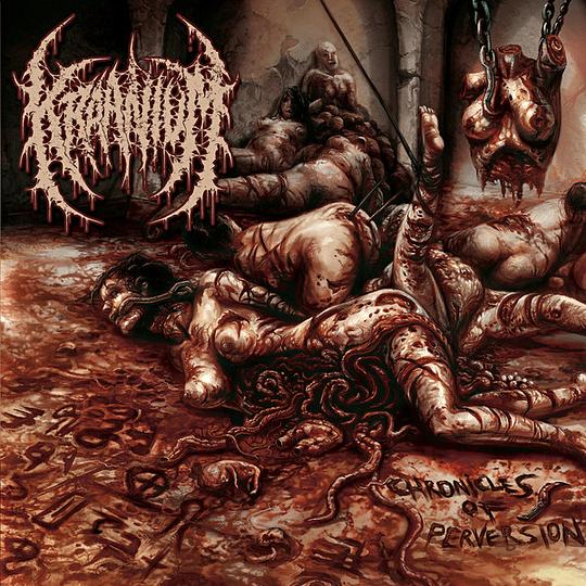 KRAANIUM  -  Chronicles Of Perversion CD