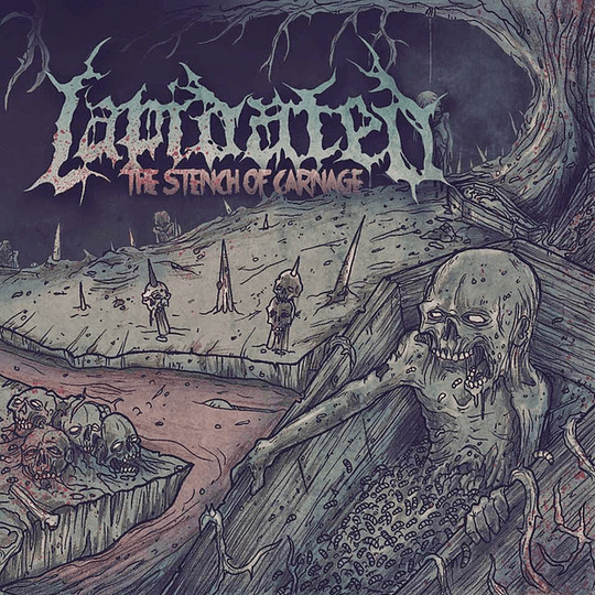 LAPIDATED - The Stench of Carnage CD