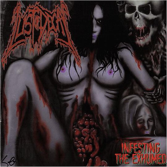LUST OF DECAY - Infesting The Exhumed CD
