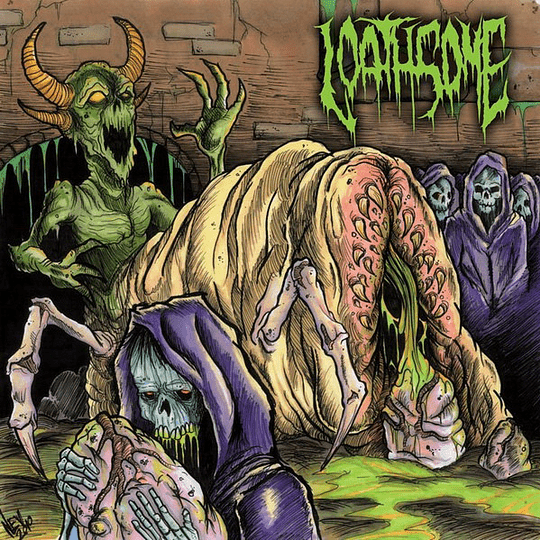 LOATHSOME - Born From Rot CD
