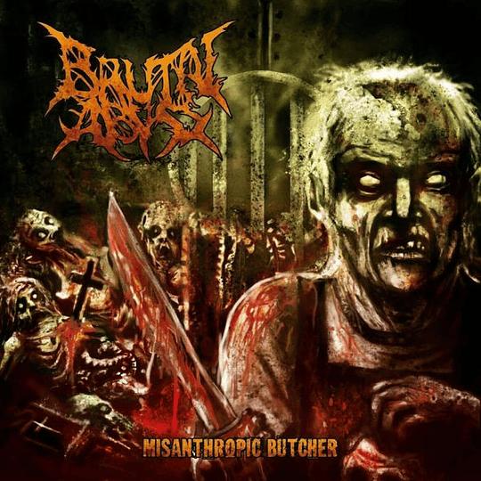 BRUTAL ABYSS - Misanthropic Butcher CD