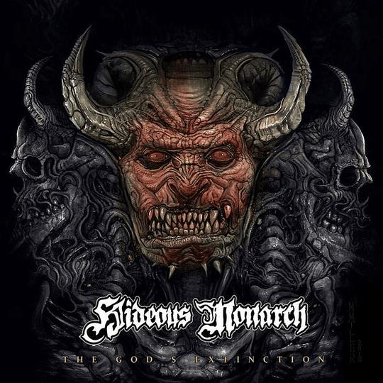 HIDEOUS MONARCH -  The God's Extinction SLIPCASE CD