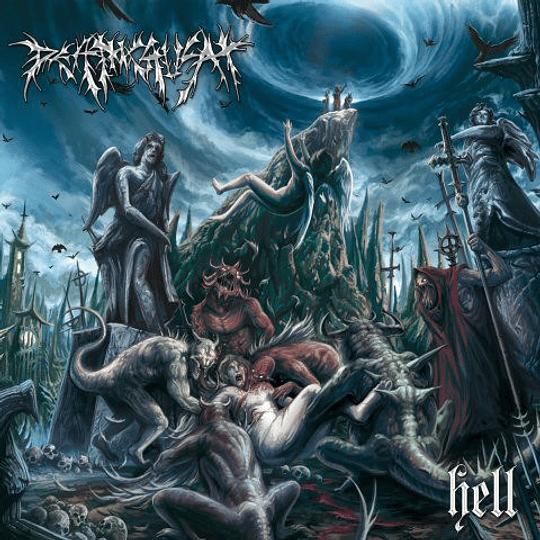 DEATHCRUSH -  Hell  CD