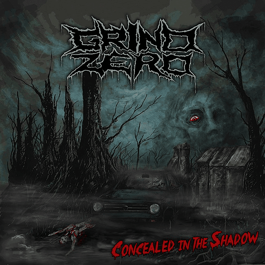 GRIND ZERO - Concealed In The Shadow CD