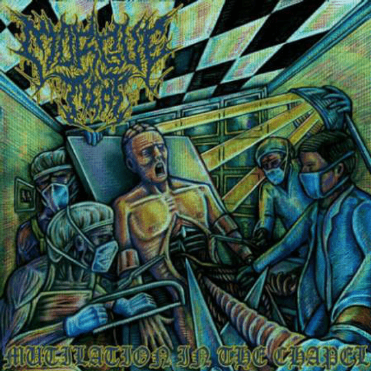 MORGUE MEAT - Mutilation In The Chapel CD