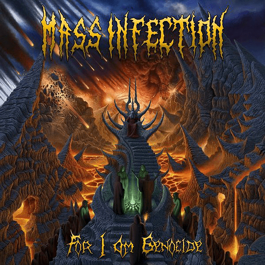MASS INFECTION - For I Am Genocide CD