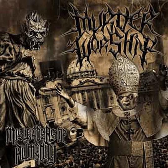 MURDER WORSHIP - Misleaders Of Humanity CD