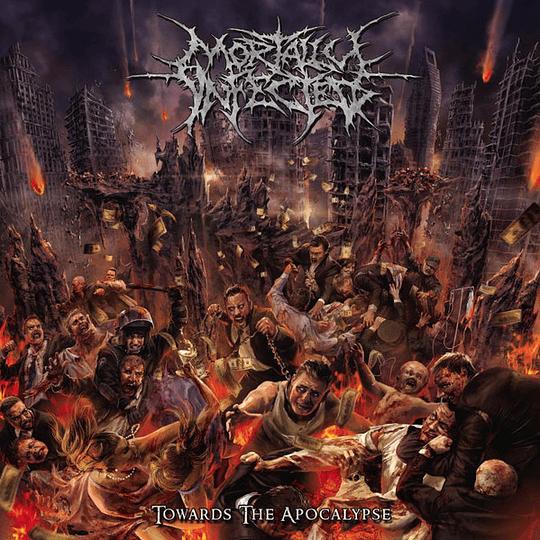 MORTALLY INFECTED - Towards The Apocalypse CD