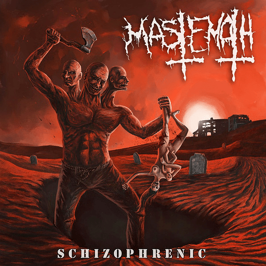 MASTEMATH - Schizophrenic CD