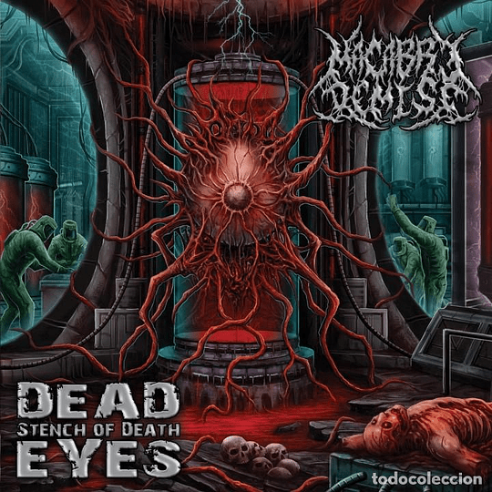 MACABRE DEMISE - Dead Eyes Stench Of Death CD
