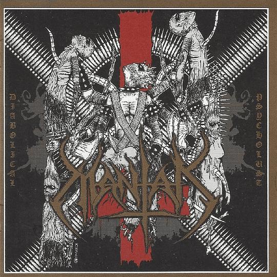 MANTAK -  Diabolical Psycholust CD