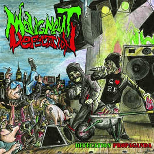 MALIGNANT DEFECATION - Defecation Propaganda CD