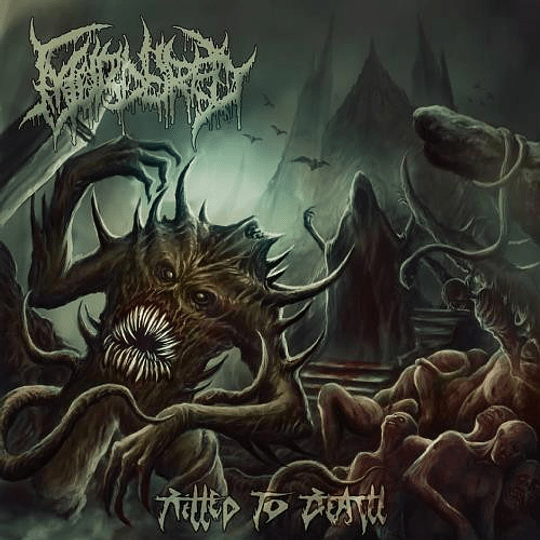 MURDERED - Killed To Death CD