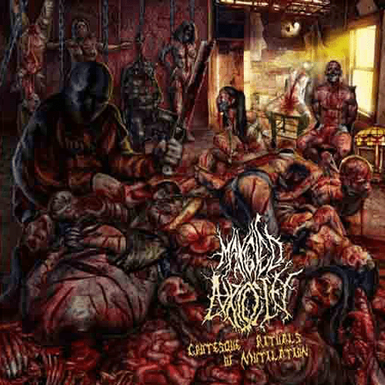 MANGLED ATROCITY - Grotesque Rituals Of Mutilation CD