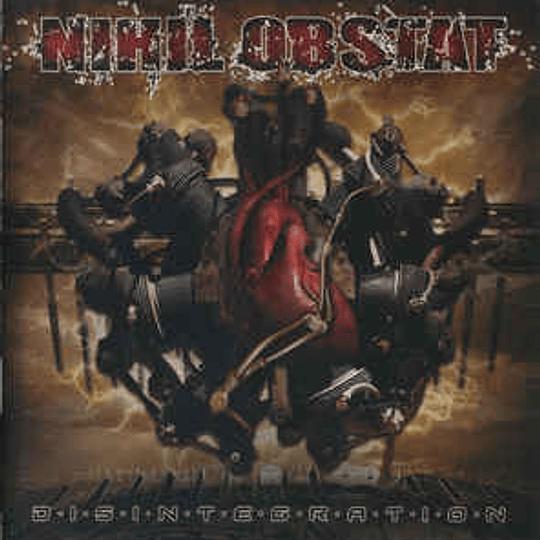NIHIL OBSTAT - Disintegration CD