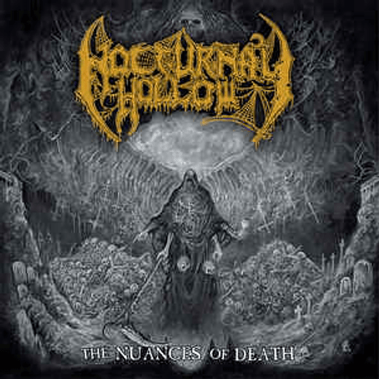 NOCTURNAL HOLLOW - The Nuances Of Death CD