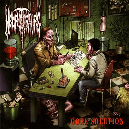 NECROTORTURE - Gore Solution CD