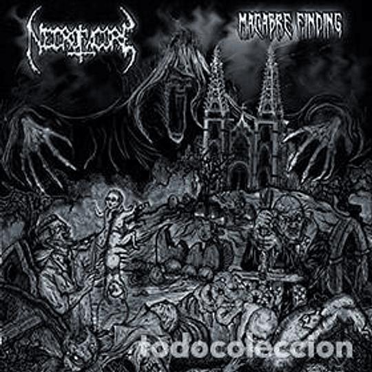 NECROFAGORE - Macabre Finding CD
