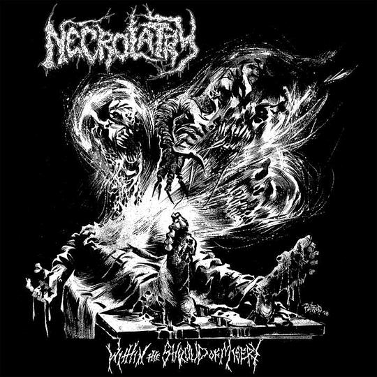 NECROLATRY - Within The Shroud Of Misery CD