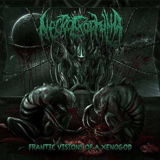 NECROEXOPHILIA - Frantic Visions Of A Xenogod CD