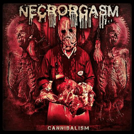 NECRORGASM - Cannibalism CD