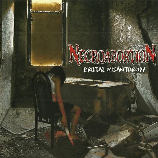 NECROABORTION -  Brutal Misanthropy CD