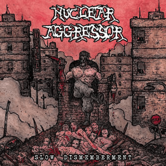 NUCLEAR AGGRESSOR - Slow Dismemberment CD