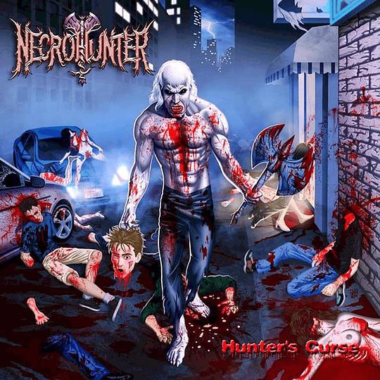 NECROHUNTER - Hunter's Curse CD