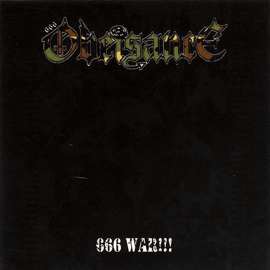 OBEISANCE - 666 War!!! CD