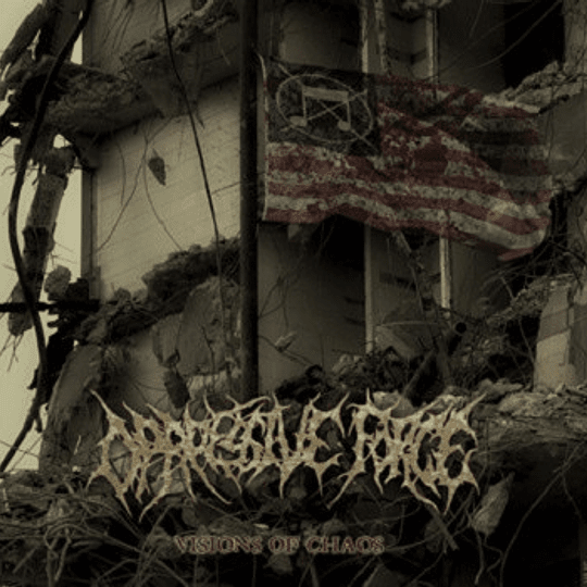 OPPRESSIVE FORCE - Visions Of Chaos CD