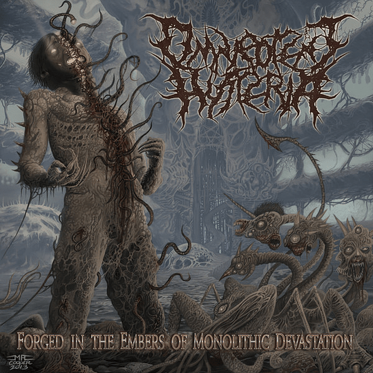 OMNIPOTENT HYSTERIA - Forged In The Embers Of Monolithic Devastation CD