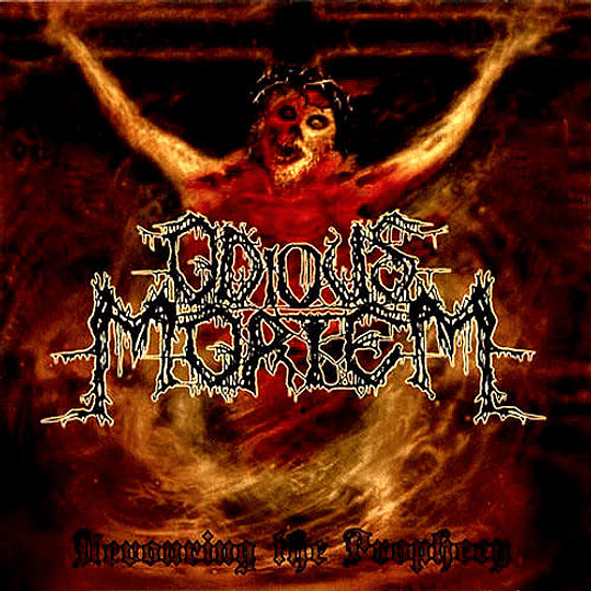 ODIOUS MORTEM - Devouring The Prophecy CD