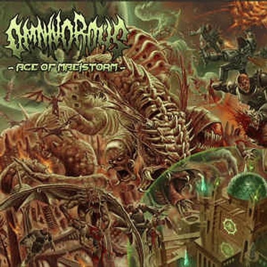 OMNIVOROUS - Age Of Maelstorm CD