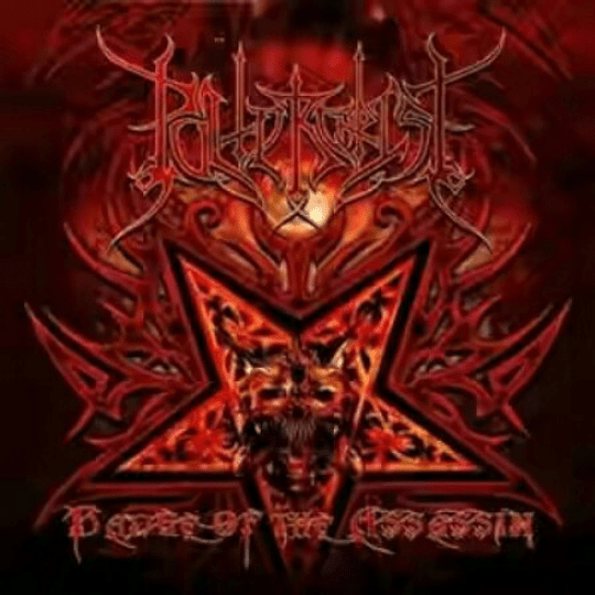 POLTERCHRIST - Badge Of The Assassin CD
