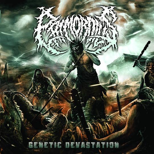 PRIMORDIUS - Genetic Devastation CD