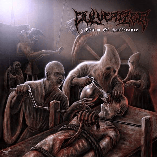 PULVERIZED - Realm Of Sufferance CD