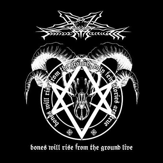 PANDEMONIUM - Bones Will Rise From The Ground Live CD