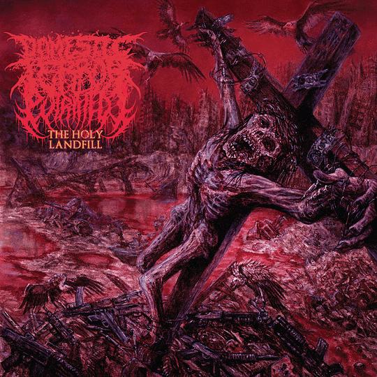 PUTRIFIED J - Domestic Terror – The Holy Landfill CD