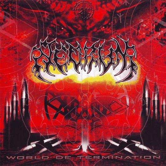 REDRUM - World De Termination CD