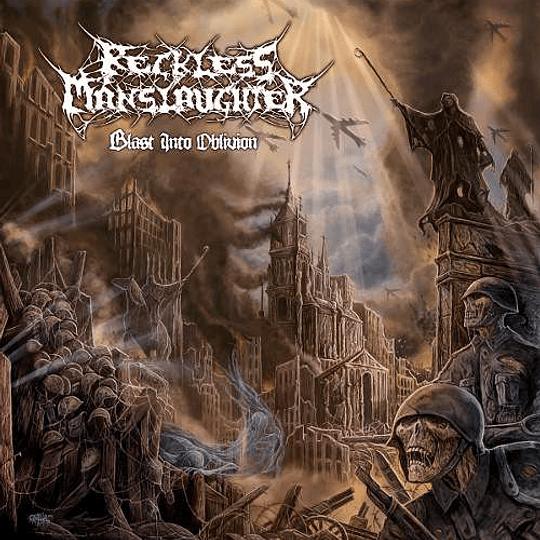 RECKLESS MANSLAUGHTER - Blast Into Oblivion CD