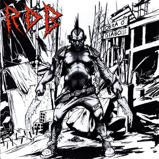 RAW DECIMATING BRUTALITY - Obra Ó Diabo!!! CD