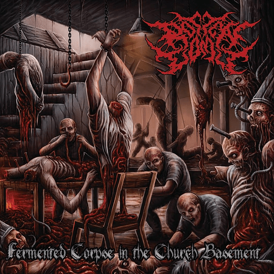 ROTTEN VOMIT - Fermented Corpse In The Church Basement CD