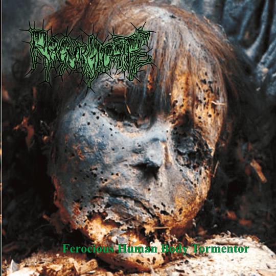 REGURGITATE - Ferocious Human Body Tormentor CD