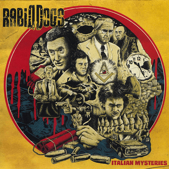 RABID DOGS -  Italian Mysteries CD