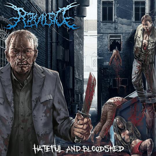 REVILED -  Hateful And Bloodshed  SLIPCASE CD